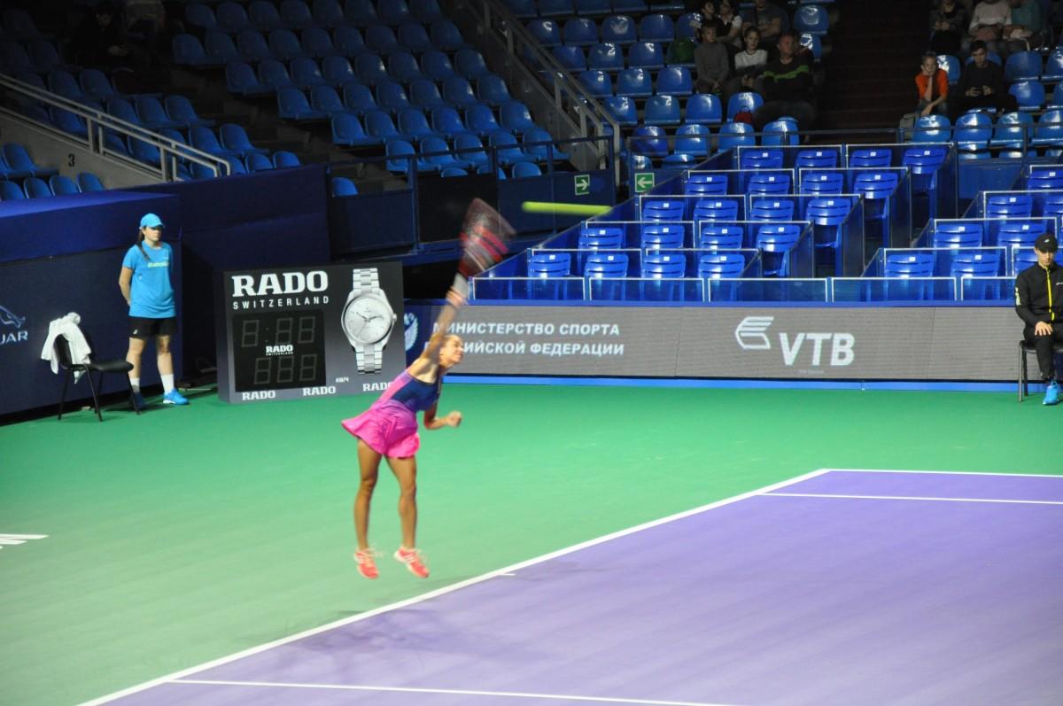 Грамматикопулу Валентини, теннисный турнир Кубок Кремля-2017
