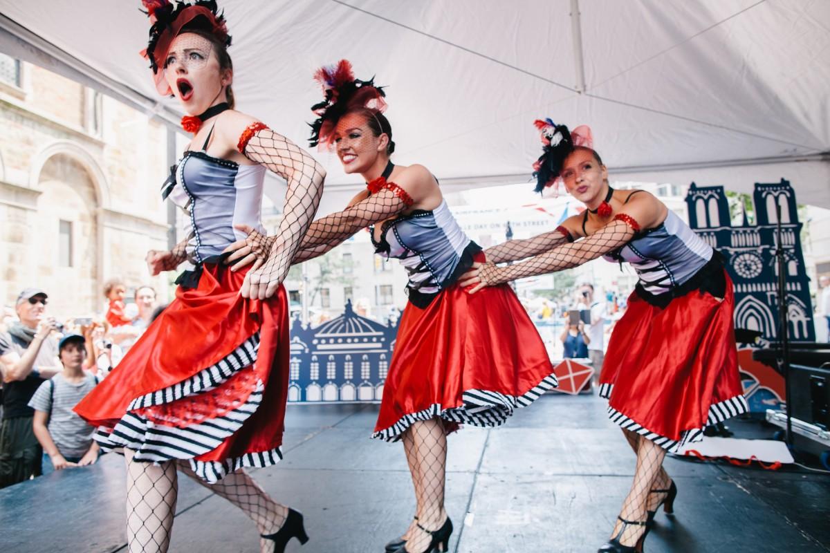 танцы на день взятия бастилии