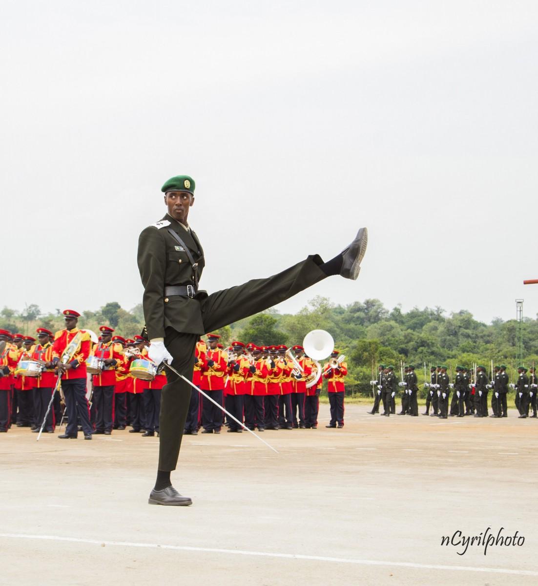 военный парад в черной африке