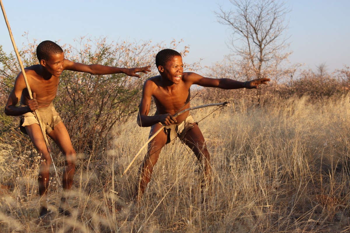 охота в черной африке