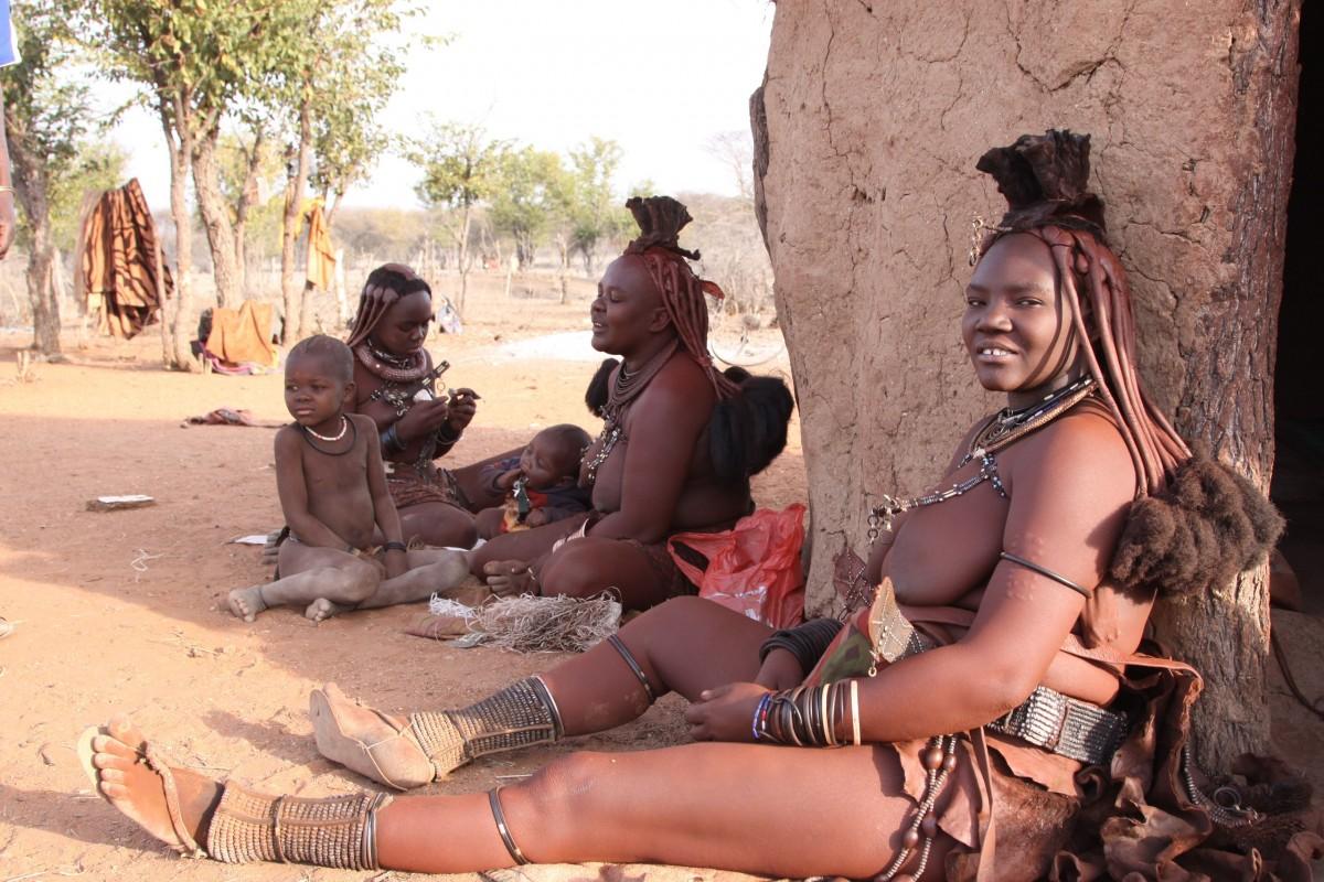 голые женщины черной африки