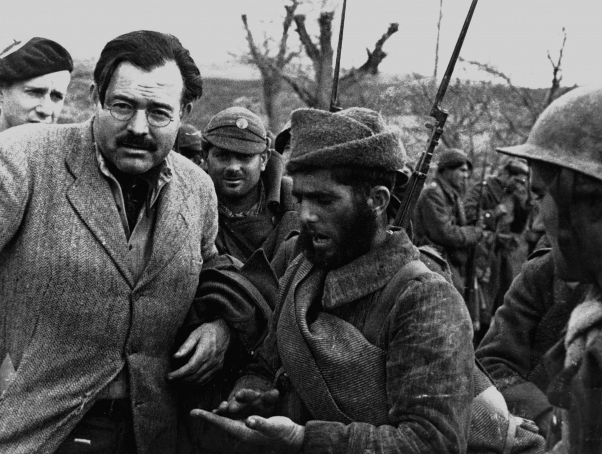 Эрнест Хемингуэй на войне в Испании