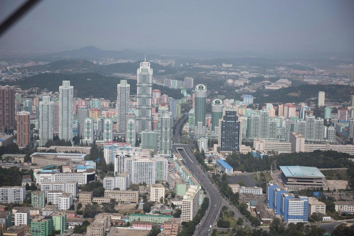 Улица Рёмён в Пхеньяне