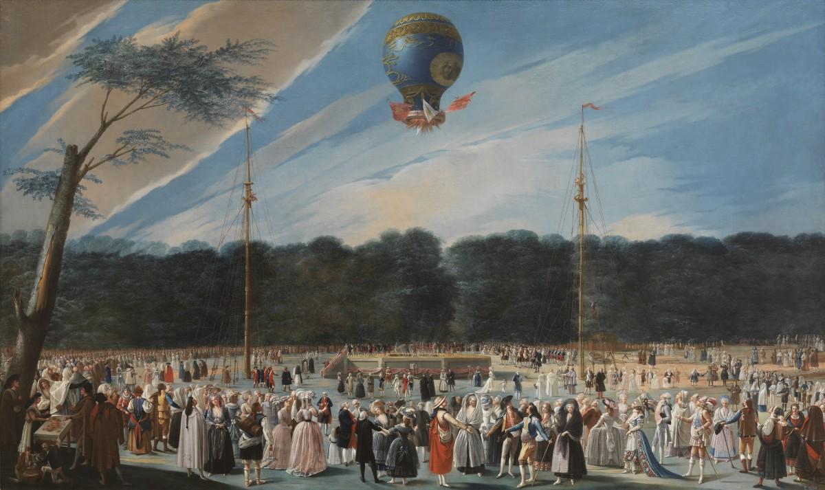 Монгольфье и их воздушный шар