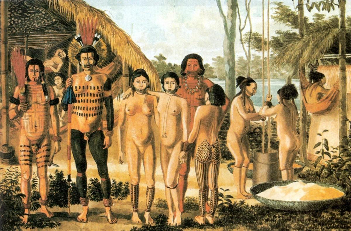индейцы гуарани
