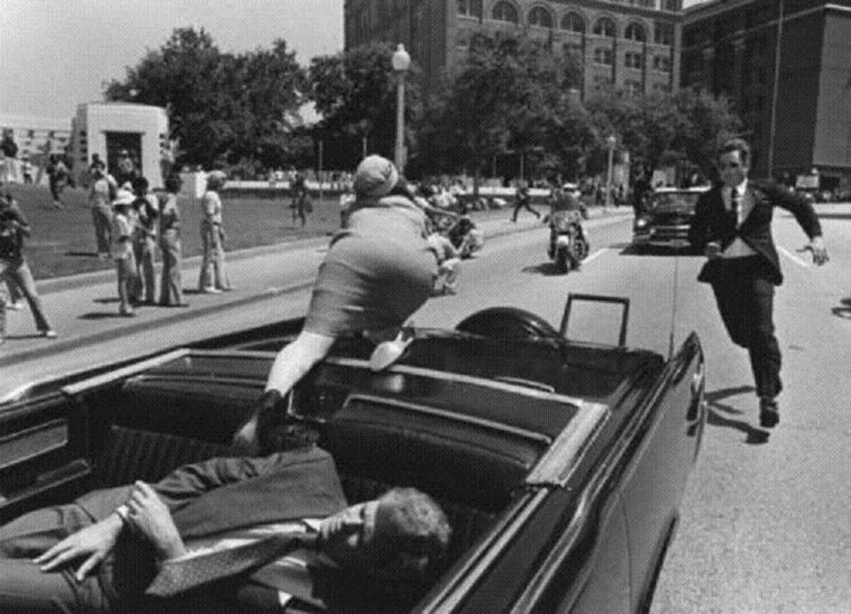 Момент убийства Джона Кеннеди