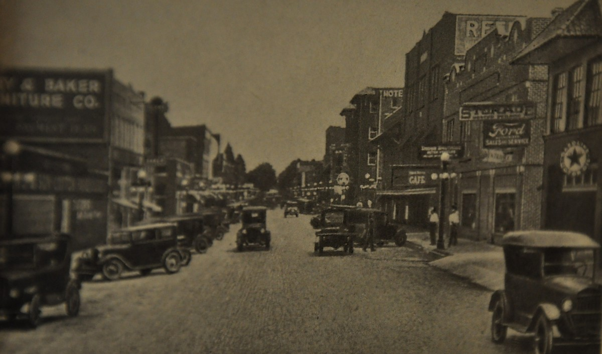 Тьюпело (Миссисипи) в 1928 г.