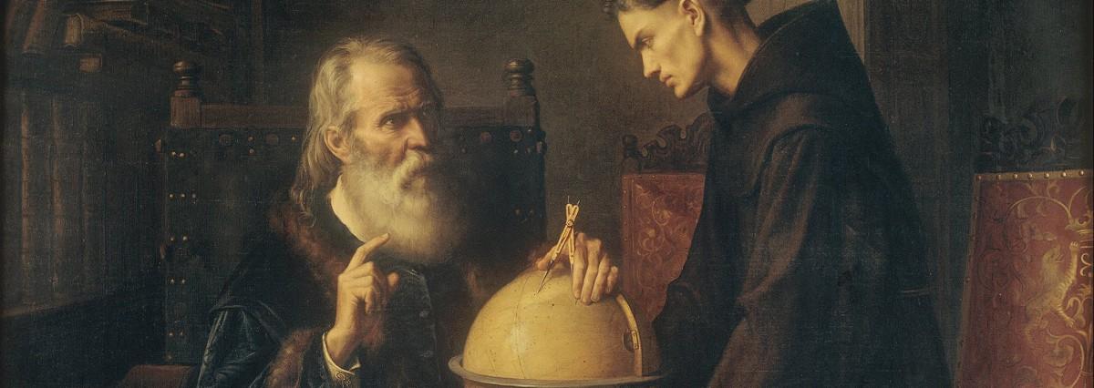 Галилео Галилей молодой