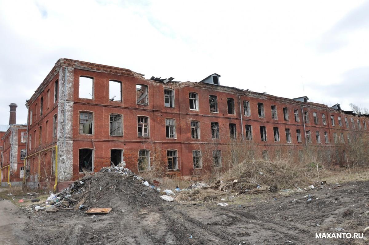 Красный Перекоп фабрика Ярославль - руины общежитий (бараков для рабочих)