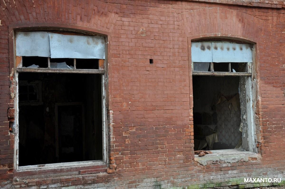 Развалины фабрики Красный Перекоп Ярославль