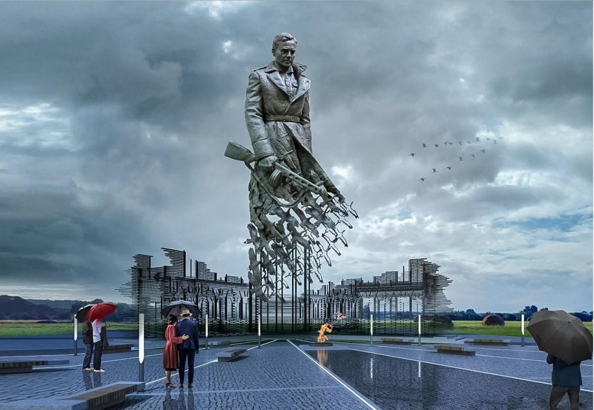 Ржевский мемориал солдатам - победитель конкурса