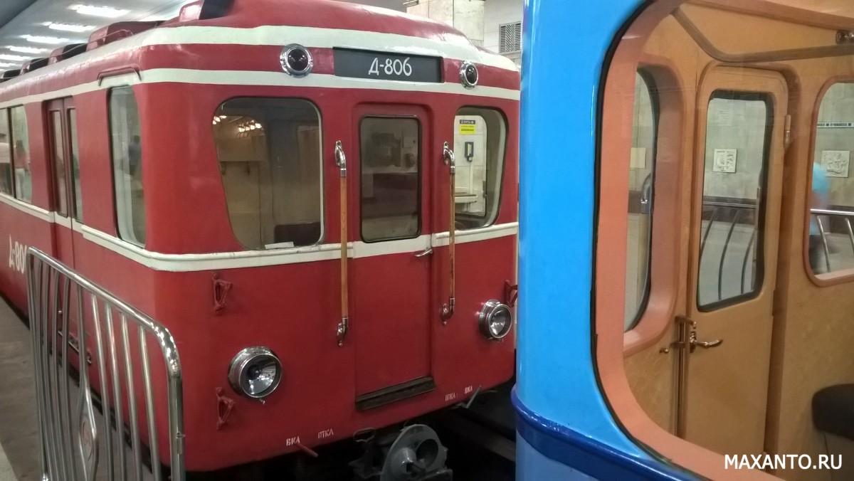 Д-806 путеизмеритель в метрополитене