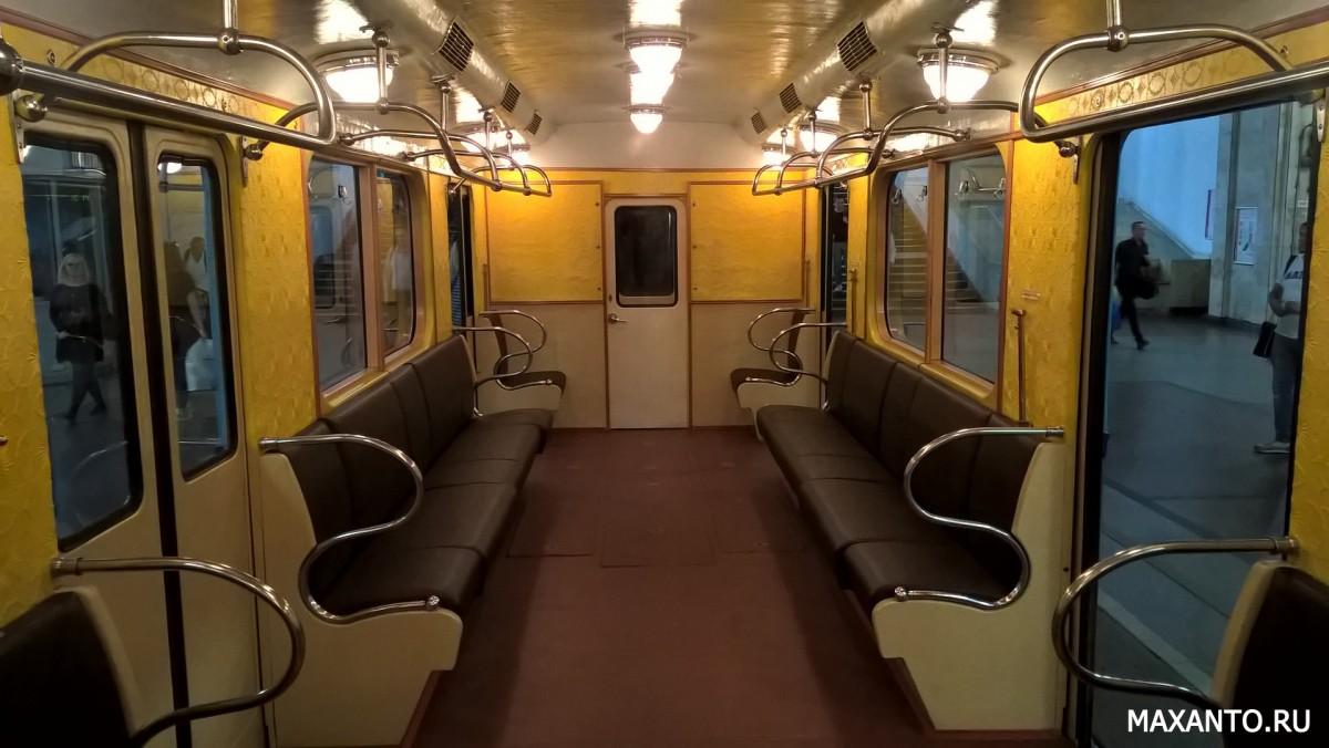 интерьер вагона