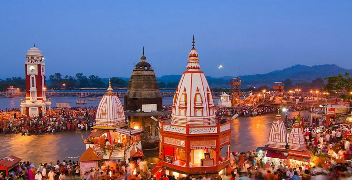 Хардвар (Харидвар) - Индия, город на Ганге